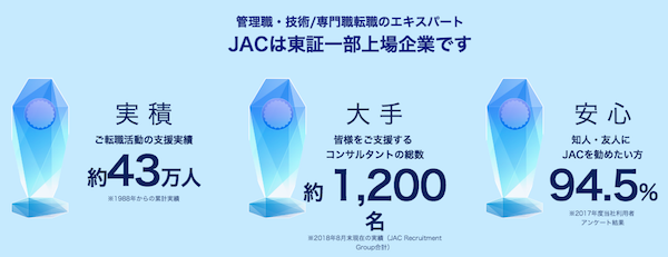 JAC 30代転職