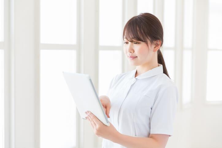 看護のお仕事 流れ 登録