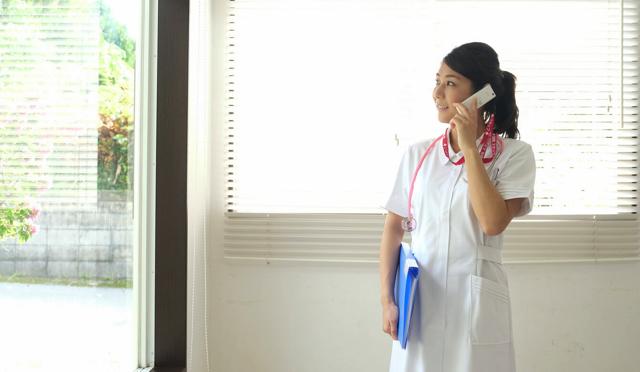 ジョブメドレー看護師 特徴 電話相談