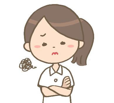 悩む看護師アイコン
