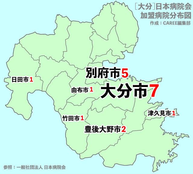 大分 病院 地図